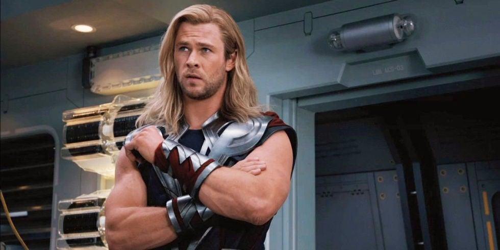thor avengers 2012