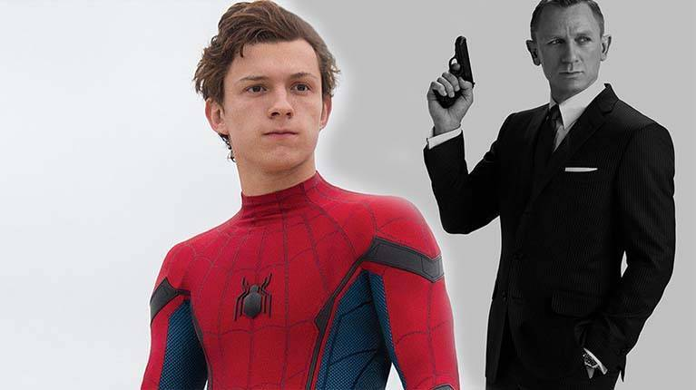 tom holland james bond