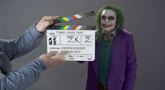 Tommy Wiseau Joker Audition