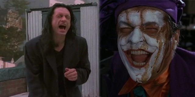 tommy wiseau the joker jack nicholson