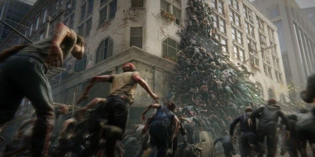 world war z gets a ton of new details about its huge zombie hordes