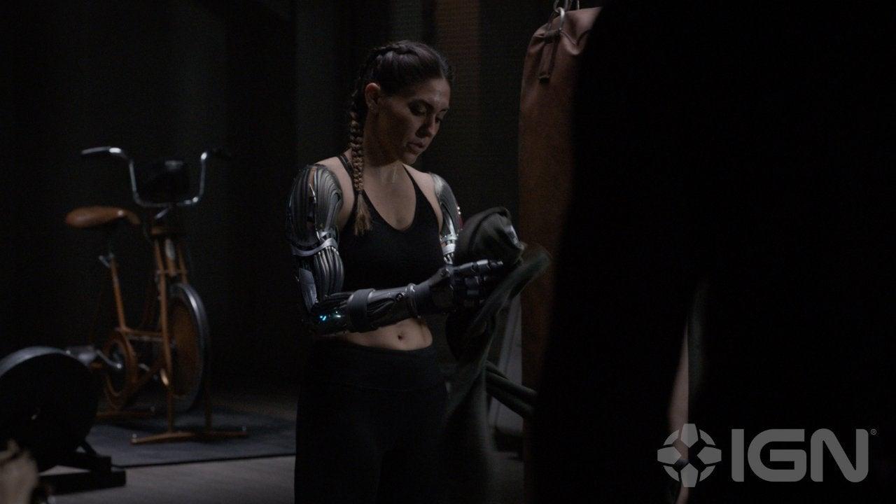 yo-yo marvel's agents of shield robot arms