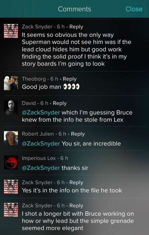 Zack Snyder Vero
