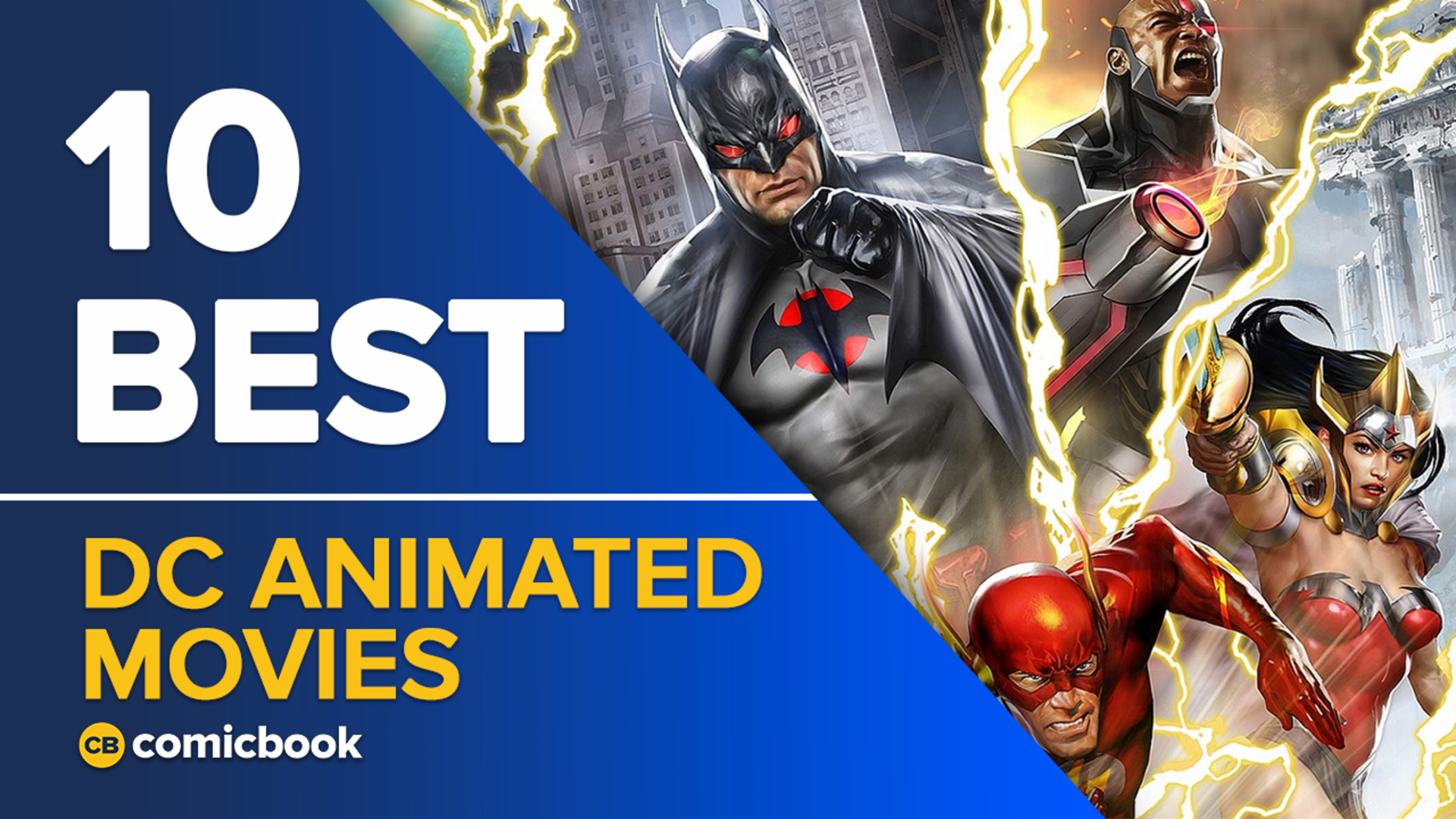 10 Best DC Animated Movies screen capture