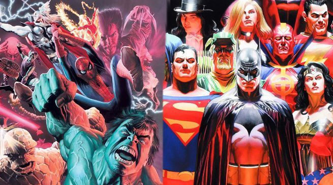 Alex Ross Explains Difference Marvel DC Characters