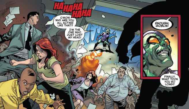 Amazing Spider-Man #798 Review - Green Goblin
