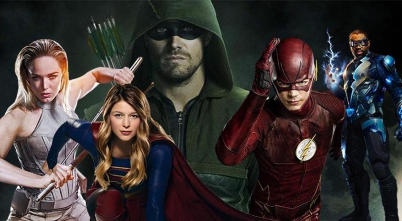 Arrowverse And Black Lightning Stars React To The Cw S 2018 2019 Renewals