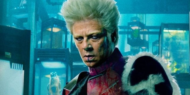 Avengers 3 4 Benicio Del Toro The Collector