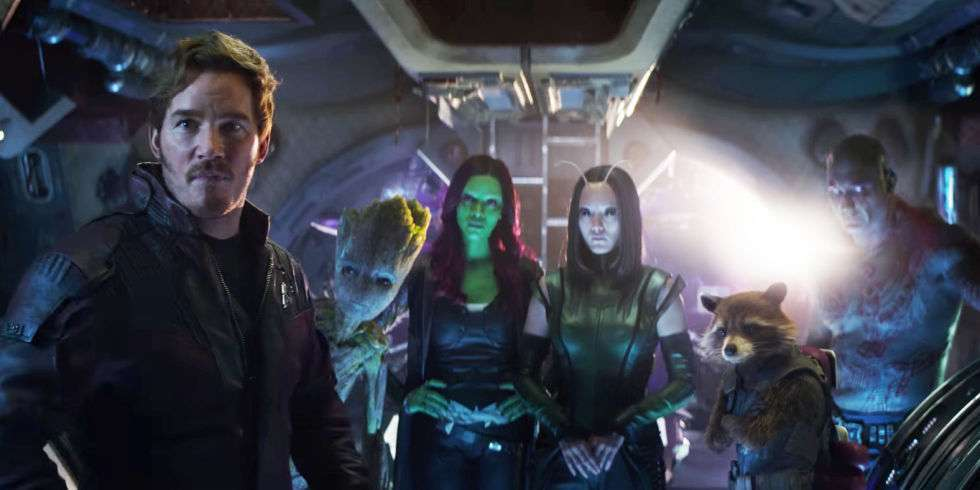Avengers Infinity War After - Guardians of the Galaxy