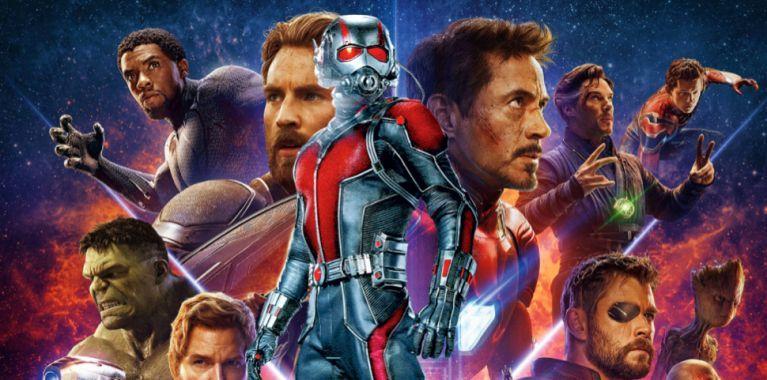 Avengers Infinity War Antman