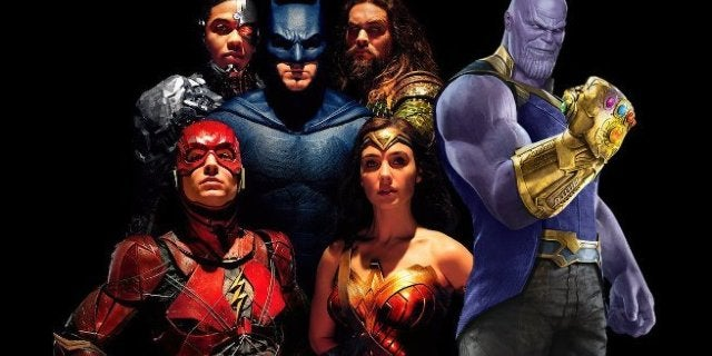 Avengers Infinity War Box Office Justice League
