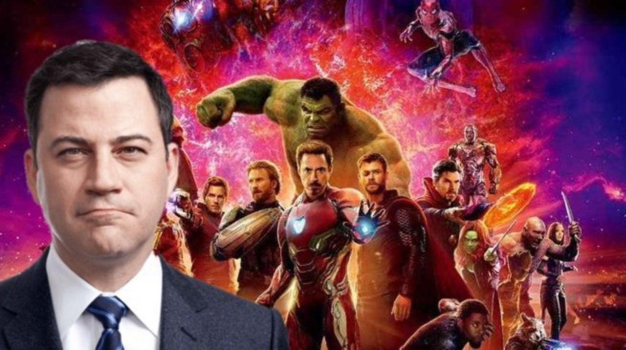 avengers: infinity war' stars to be on jimmy kimmel next week