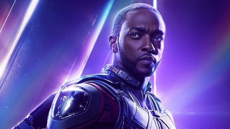 Avengers Infinity War Character Headers - Falcon