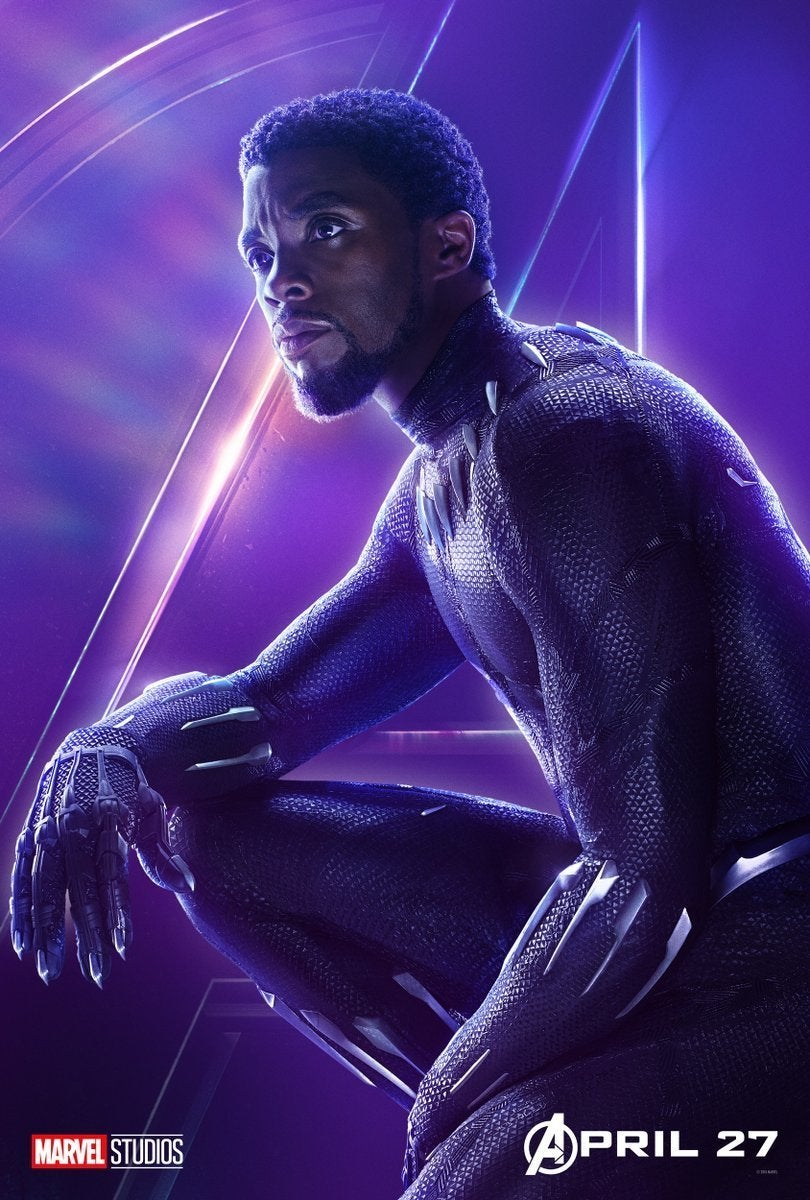 Avengers Infinity War Character Posters - Black Panther
