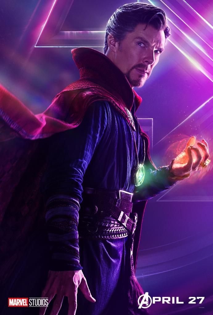 Avengers Infinity War Character Posters - Doctor Strange