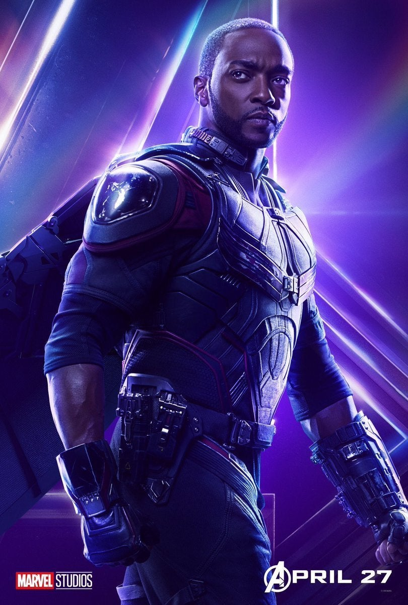 Avengers Infinity War Character Posters - Falcon