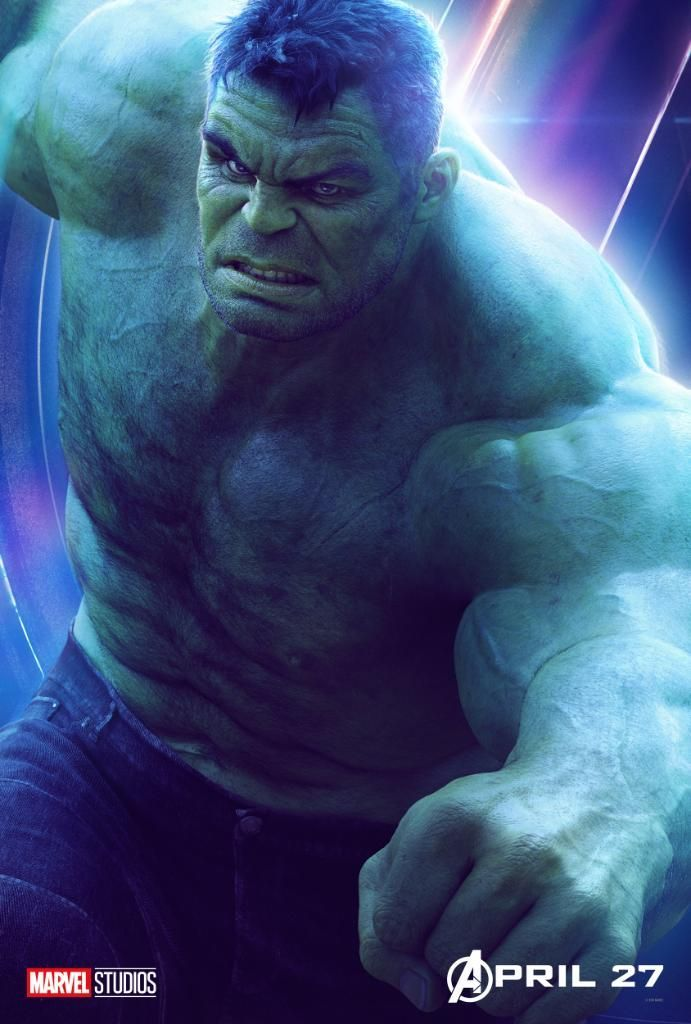 Avengers Infinity War Character Posters - Hulk