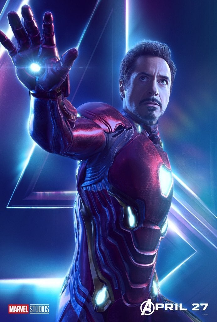 Avengers Infinity War Character Posters - Iron Man