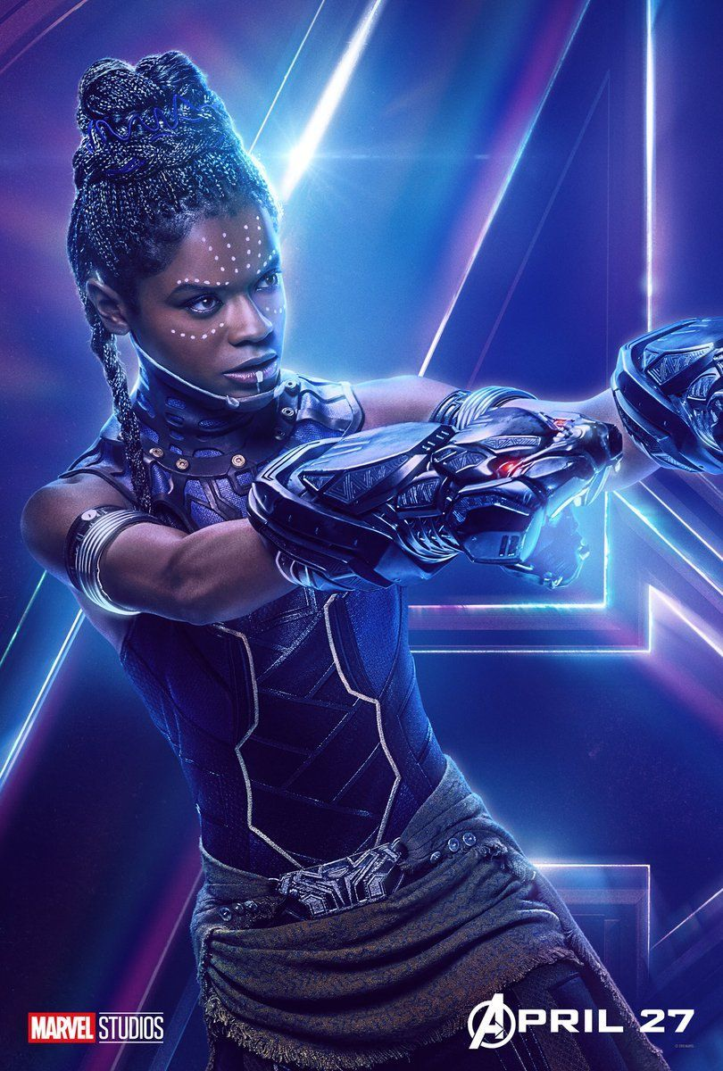Avengers Infinity War Character Posters - Shuri