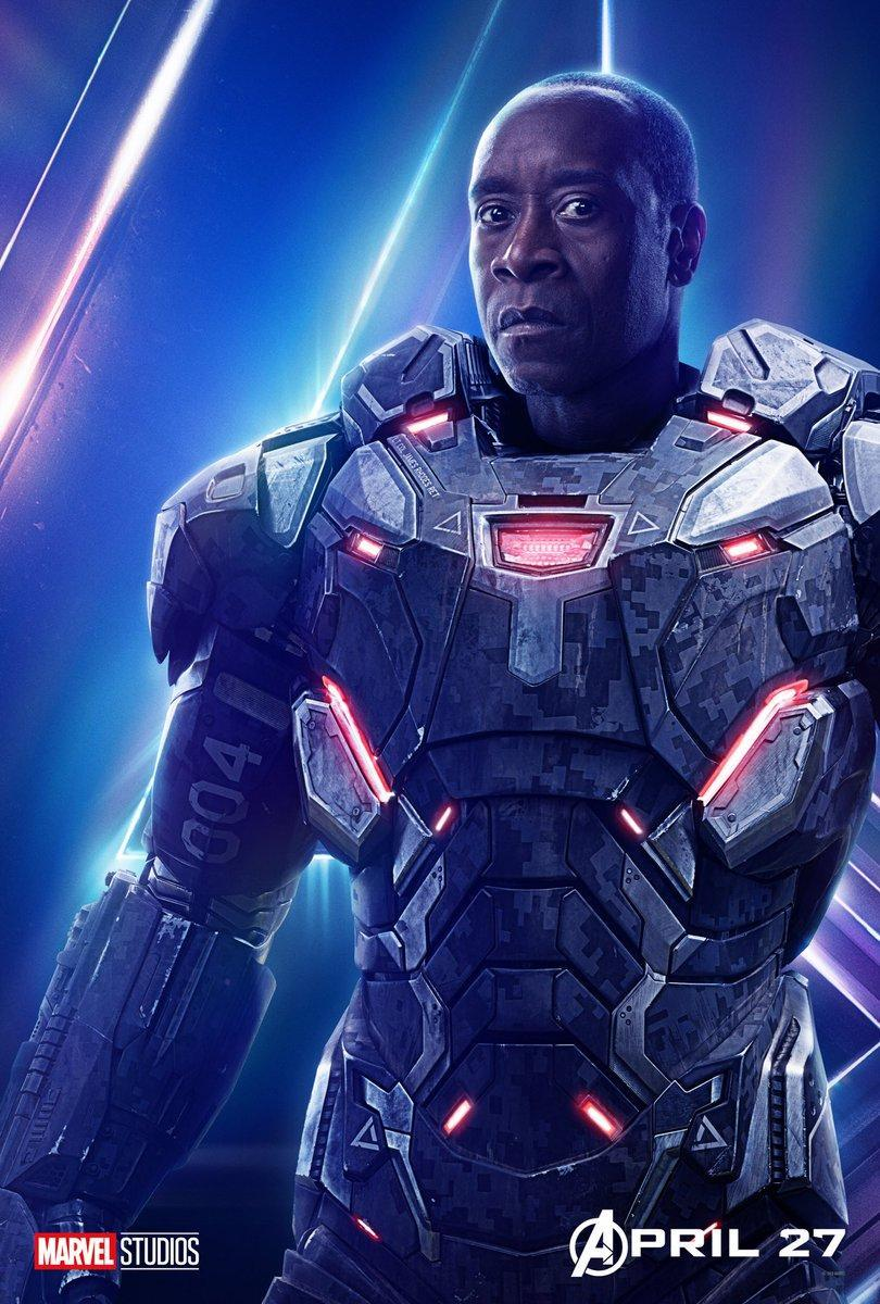 Avengers Infinity War Character Posters - War Machine