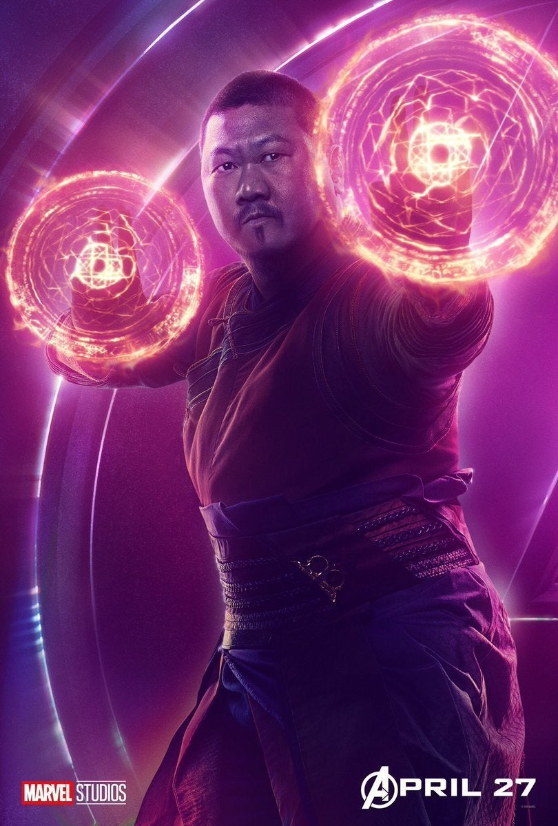 Avengers Infinity War Character Posters - Wong
