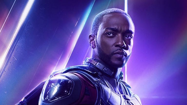 Avengers Infinity War Falcon Anthony Mackie