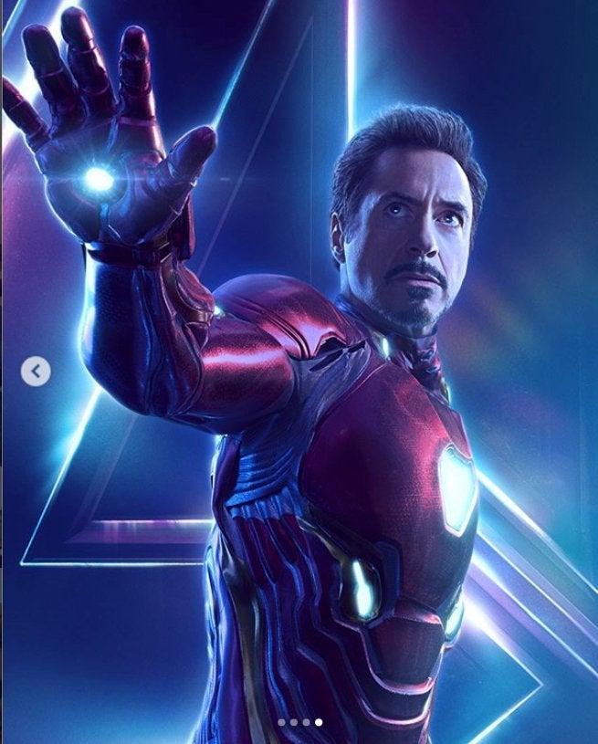 Avengers Infinity War Iron Man Character Poster