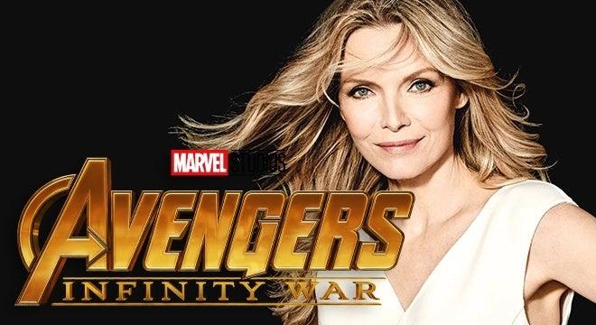 avengers infinity war michelle pfeiffer