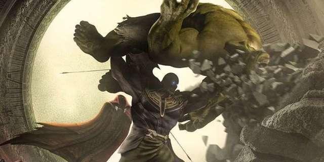 thanos vs  hulk in  u0026 39 avengers  infinity war u0026 39  fan poster