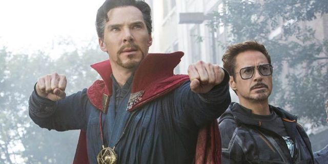 avengers infinity war robert downey jr doctor strange
