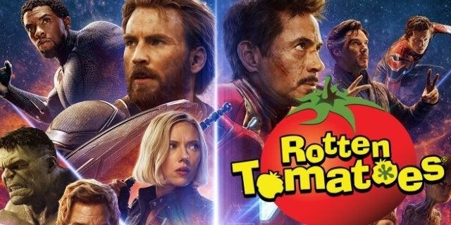 avengers infinity war rotten tomatoes mcu