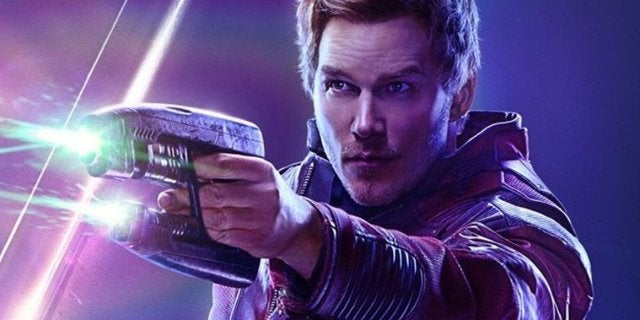 Avengers Infinity War Star-Lord