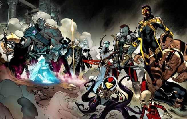 Avengers No Surrender - Villains