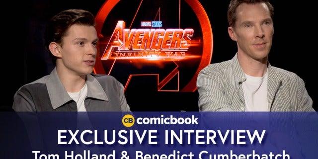 Benedict Cumberbatch and Tom Holland Talk Avengers: Infinity War screen capture