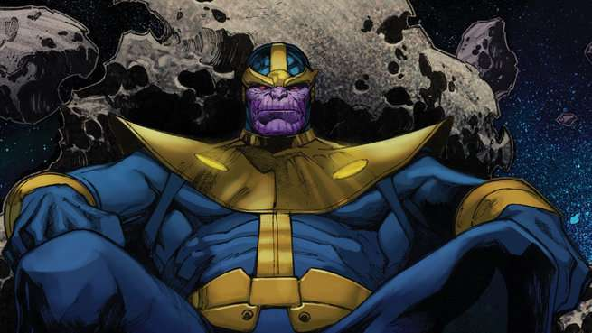 Best Thanos Comics - Cover
