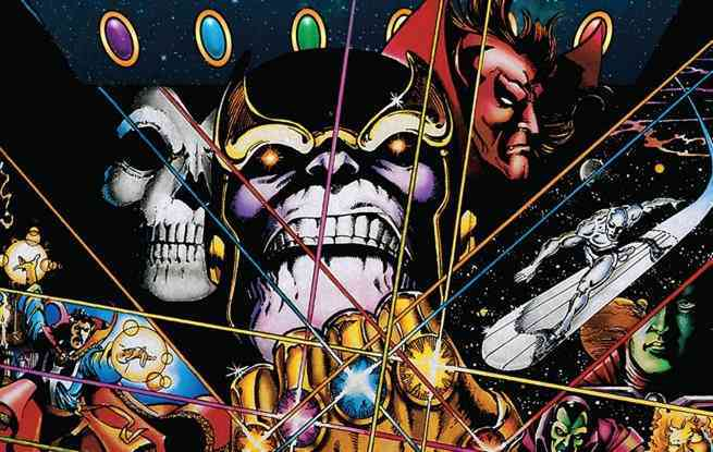 Best Thanos Comics - The Infinity Gauntlet