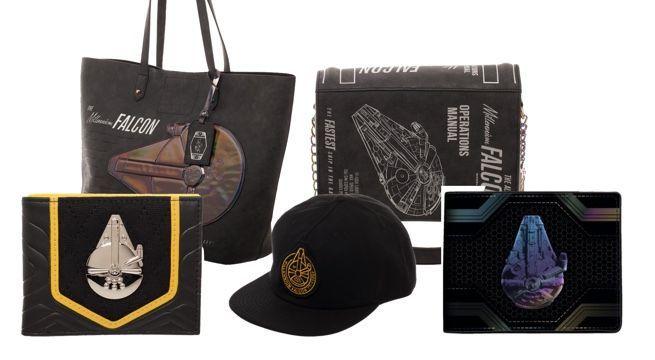 f8e58e8064a Fancy  Solo  A Star Wars Story  Millennium Falcon Bags and Wallets
