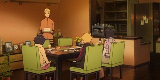 Boruto 53 Naruto Promise Himawari Birthday Scene