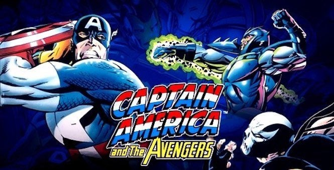 Captain america and the avengers mame rom