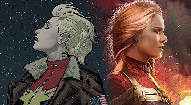 Captain Marvel Brie Larson jacket