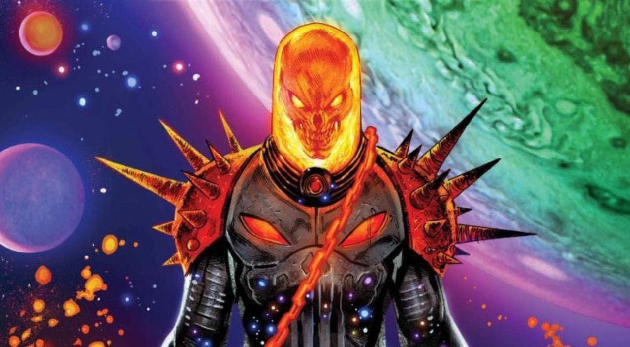 cosmic ghost rider' first look released