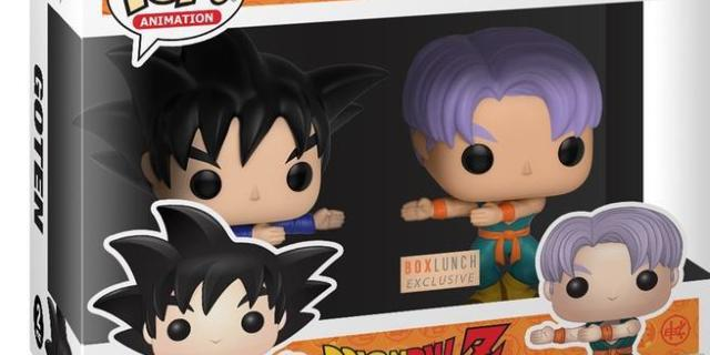 The Dragon Ball Z Fusion Dance Funko Pop Two Pack Exclusive Arrives Tonight