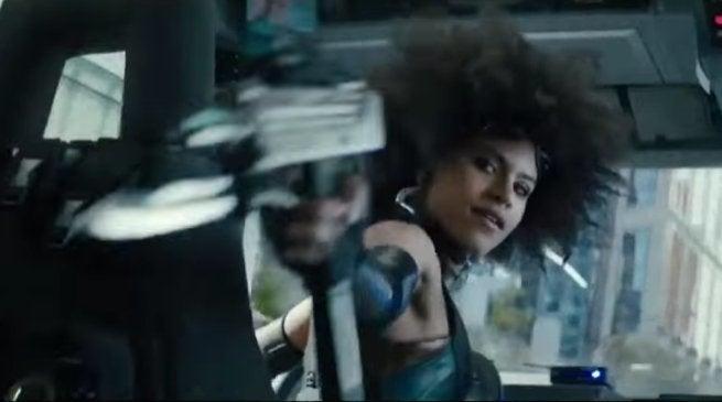 Deadpool 2 Domino Audition Featurette Video