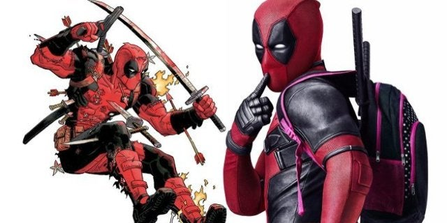 Deadpool Movie Costume Ryan Reynolds Marvel Comics Ban