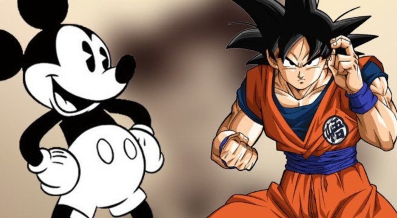 Dragon Ball Super Illustrator Gives Goku An Old School Disney Makeover