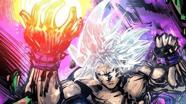 Dragon Ball Super Characters Marvel Comics version