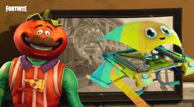 """f_nite_store """"title ="""" f_nite_store """"height ="""" 363 """"width ="""" 655 """"Data Element ="""" 1104196 """"/> </figure> <p>  Hat <i> Fortnite </i> Battle Royale Battle Stages and Loot during the Double XP Weekend? We hope you're sick of it, because now is the time to spend some shiny V-Bucks on cosmetics, the <i> Fortnite <i></i> Item Shop has been updated with a brand new selection of outfits, gliders, emotes and more! Here's a quick look at the entire lineup, courtesy of FortniteIntel: </p> <blockquote class="""