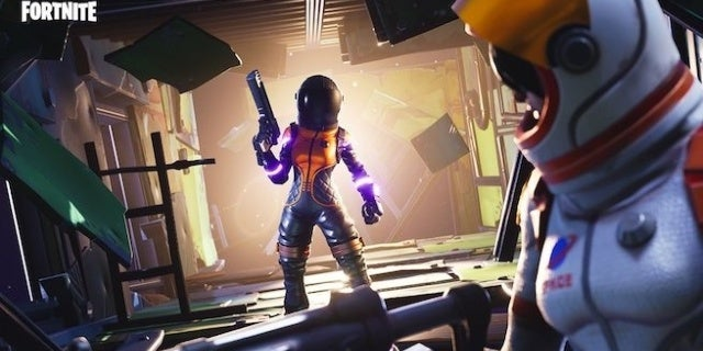 Fortnite Dark Vanguard Outfit And Space Shuttle Gliders