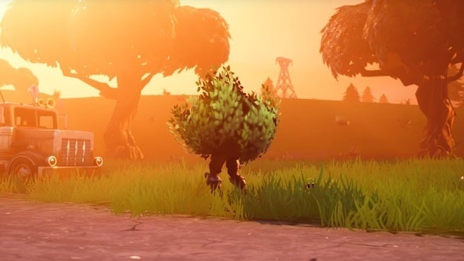 This Fortnite Bush Squad Charging With a Storm of Rockets Wins the