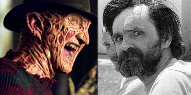 freddy krueger charles manson nightmare on elm street